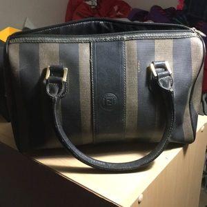 Fendi vintage Boston satchel
